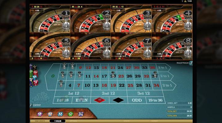 Multi-Wheel Roulette Gold Screenshot #4